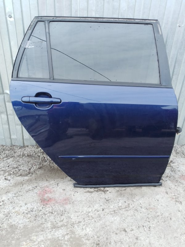 Дверь Toyota Corolla Fielder ZZE122 1ZZ-FE 2005 задняя правая