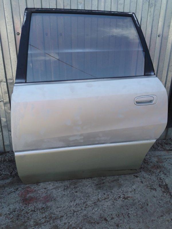 Дверь Toyota Ipsum SXM10 3S-FE 1998 задняя левая