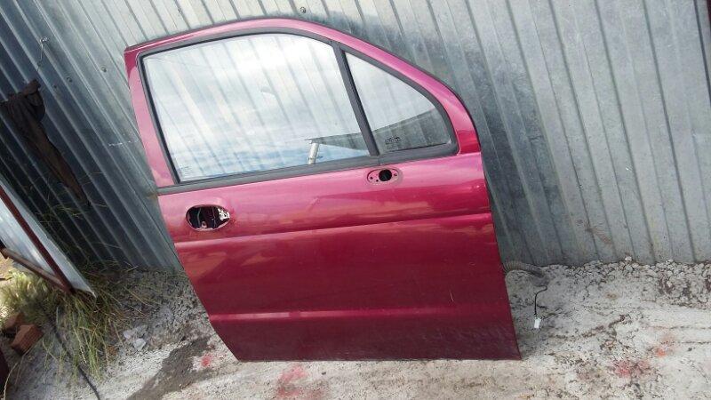 Дверь Daewoo Matiz KLYA F8CV 2012 передняя правая