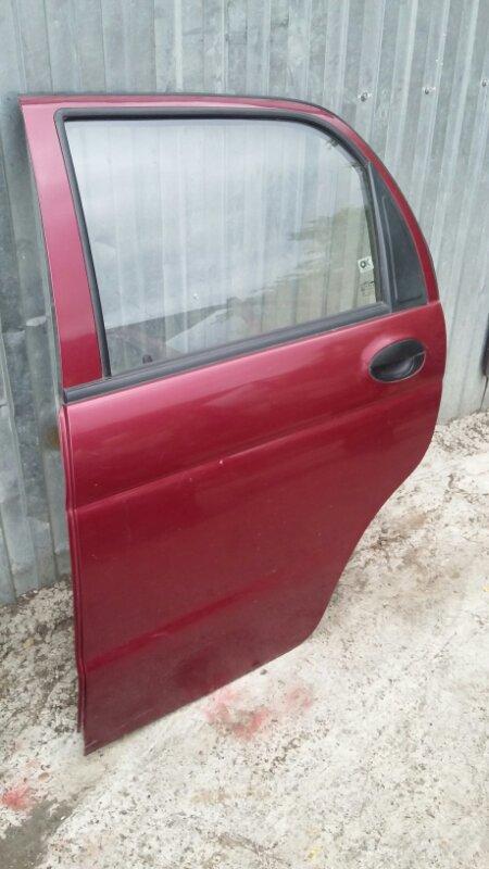 Дверь Daewoo Matiz KLYA F8CV 2012 задняя левая