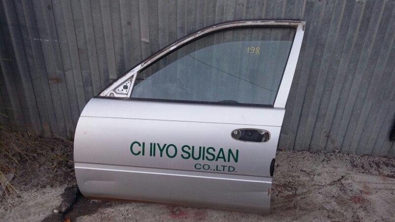 Дверь Toyota Corolla CE107 3C 1999 передняя левая