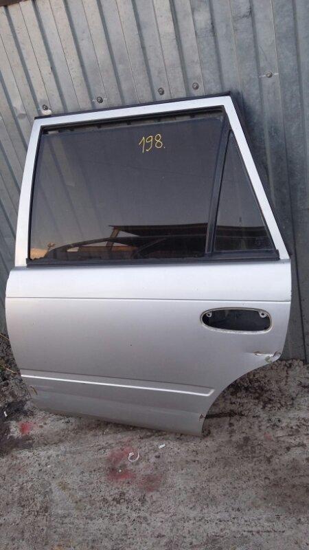 Дверь Toyota Corolla CE107 3C 1999 задняя левая