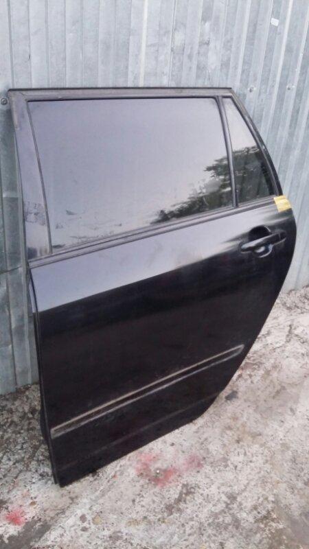 Дверь Toyota Corolla Fielder ZZE-122 1ZZ-FE 2005 задняя левая