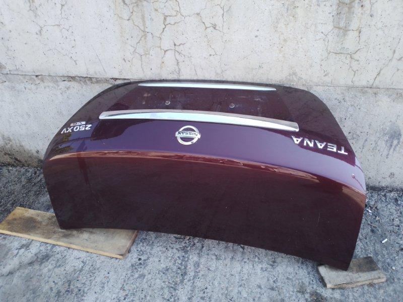 Крышка багажника Nissan Teana J32 VQ25DE 2010