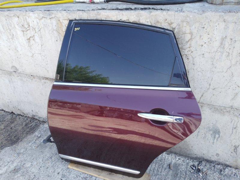 Дверь Nissan Teana J32 VQ25DE 2010 задняя левая