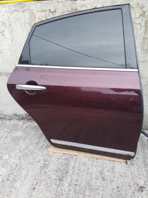 Дверь Nissan Teana J32 VQ25DE 2010 задняя правая