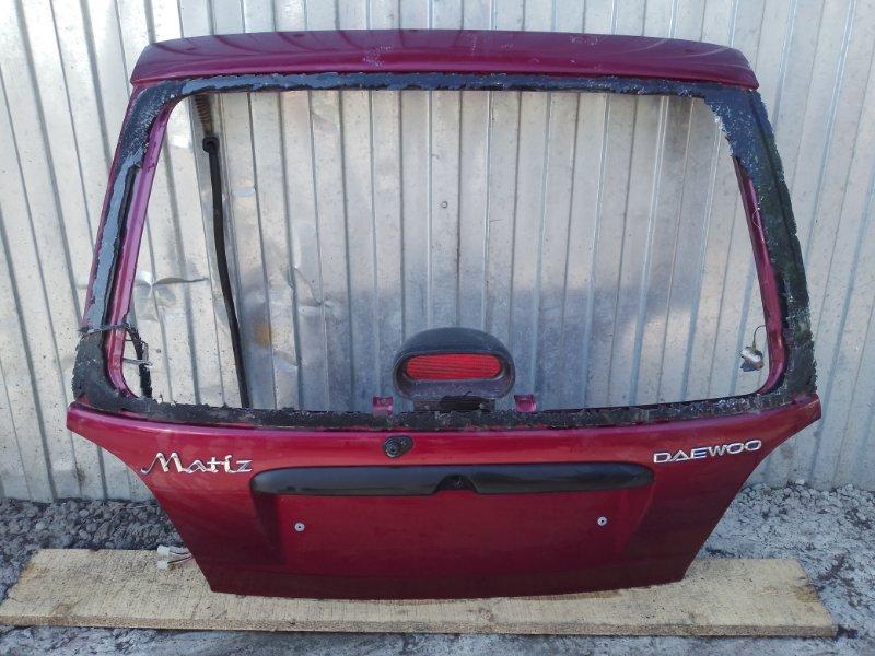 Дверь багажника Daewoo Matiz KLYA F8CV 2012