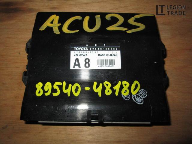 Блок управления Toyota Kluger V ACU25 2AZFE