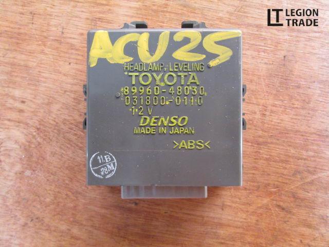 Блок управления Toyota Kluger V ACU25