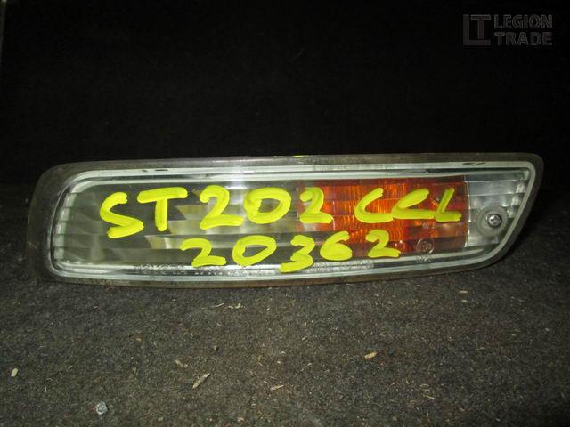 Повторитель бамперный Toyota Celica ST202 передний левый