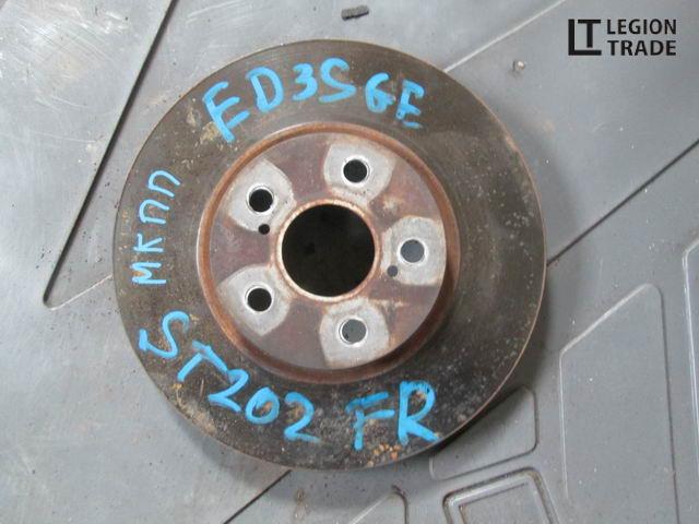 Тормозной диск Toyota Carina Ed ST202 3SGE