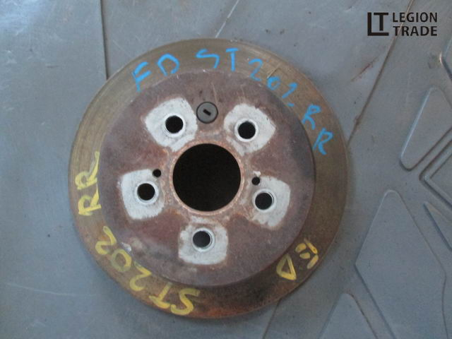 Тормозной диск Toyota Carina Ed ST202 задний