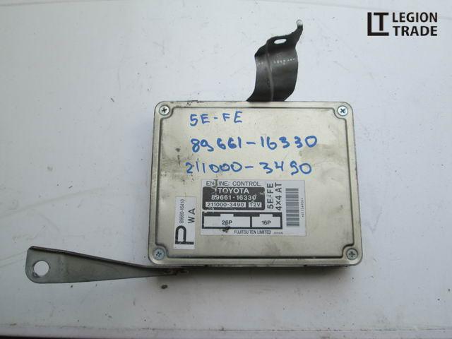 Блок управления efi Toyota Corsa EL55 5EFE