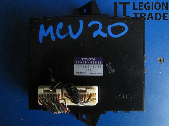Блок управления Toyota Kluger MCU20