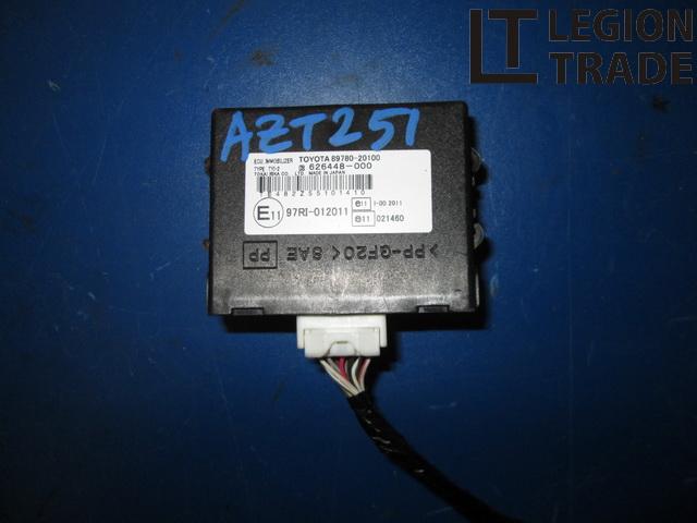 Блок иммобилайзера Toyota Avensis AZT251