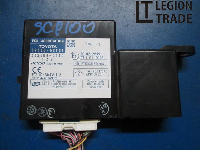 Блок иммобилайзера Toyota Ractis SCP100 1SZFE