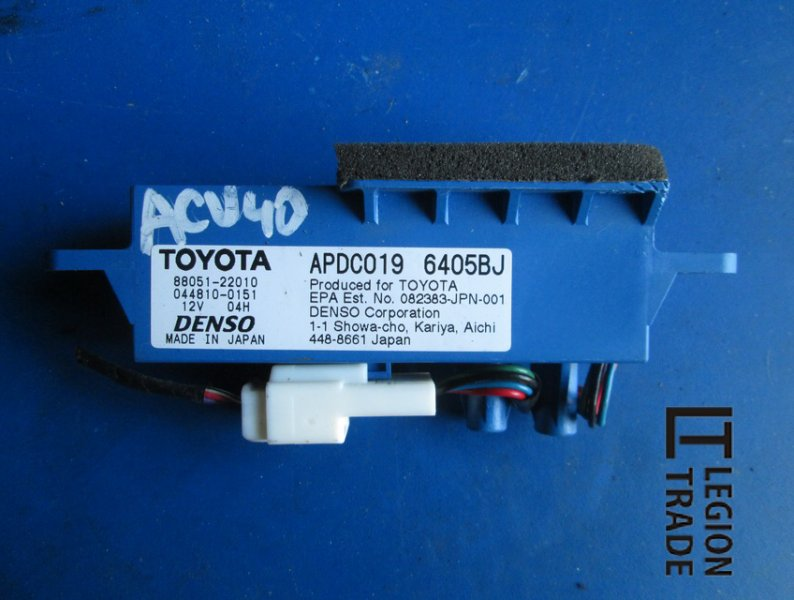 Ионизатор Toyota Camry ACV40