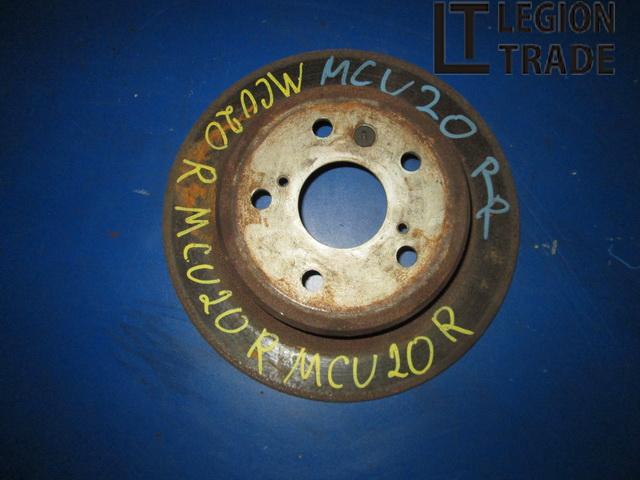 Тормозной диск Toyota Kluger MCU20 1MZFE задний