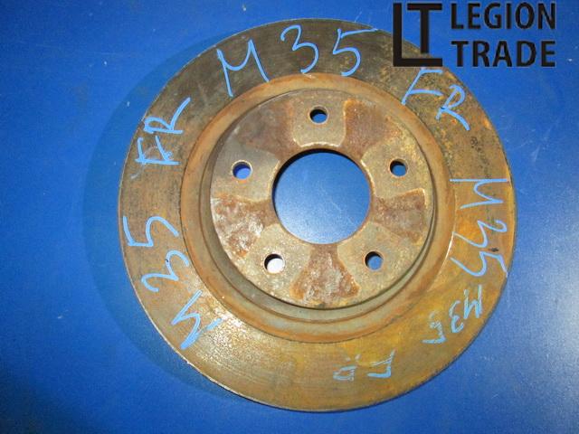 Тормозной диск Nissan Stagea M35 передний