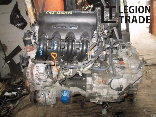 Двигатель Honda Mobilio GB2 L15A