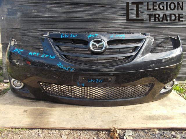 Бампер Mazda Mpv LW3W передний