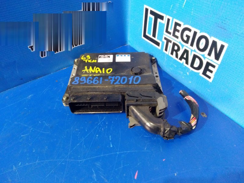 Блок управления efi Toyota Mark X Zio ANA10 2AZFE