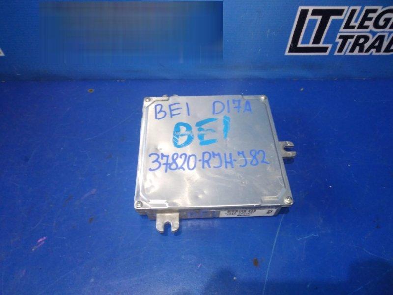 Блок управления efi Honda Edix BE1 D17A