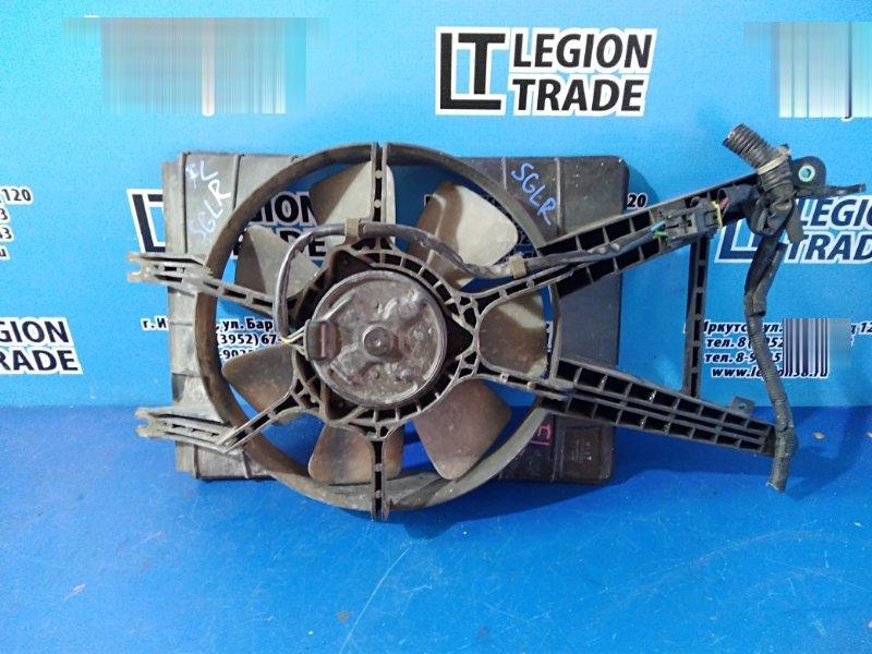Диффузор радиатора Mazda Bongo Friendee SGLR WLT передний правый