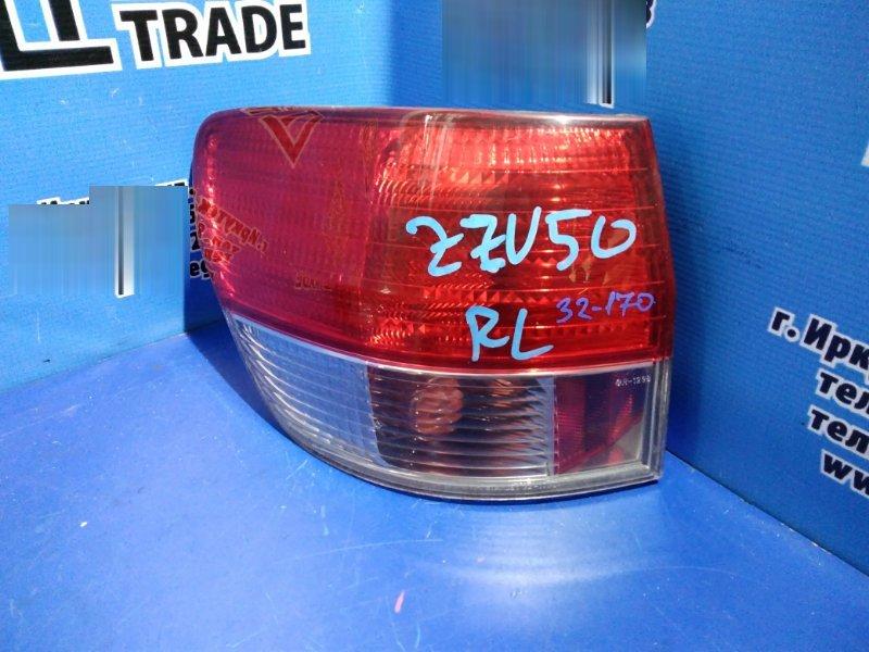 Стоп-сигнал Toyota Vista AZV50 задний левый