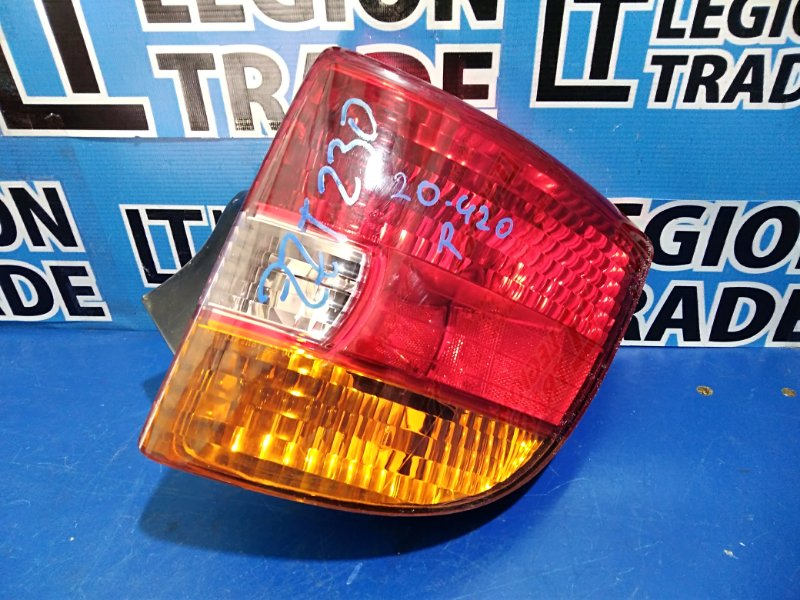 Стоп-сигнал Toyota Celica ZZT231 задний правый