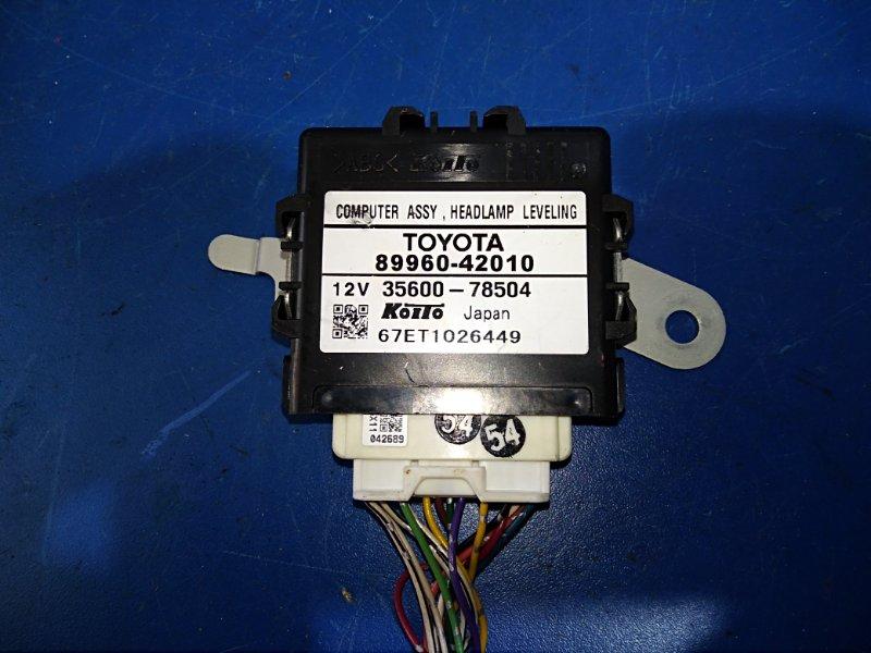 Блок коррекции фар Toyota Rav4 ACA31