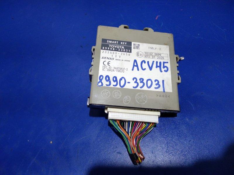 Блок иммобилайзера Toyota Camry ACV45 2AZFE