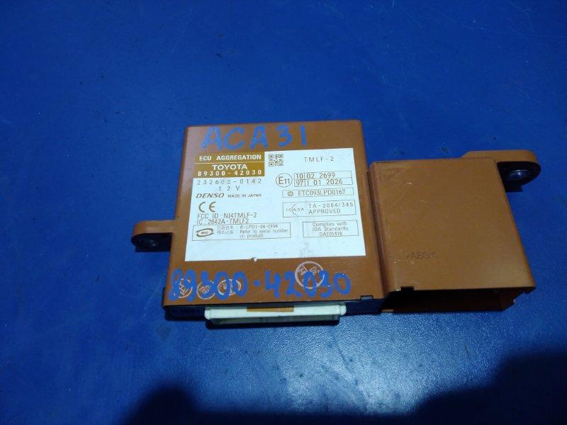 Блок иммобилайзера Toyota Rav4 ACA31 2AZFE