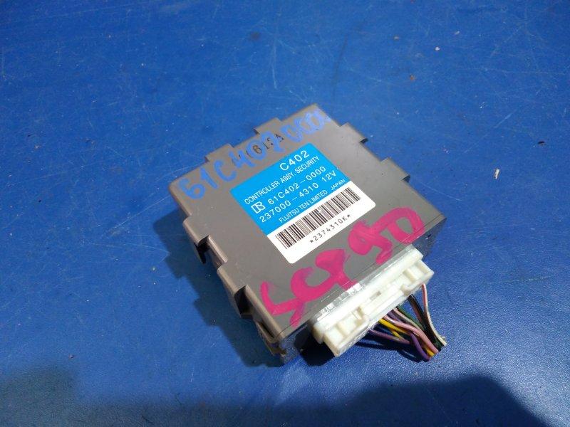 Электронный блок Toyota Vitz SCP90