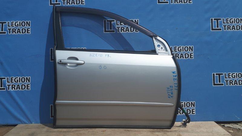Дверь Toyota Allex NZE121 передняя правая