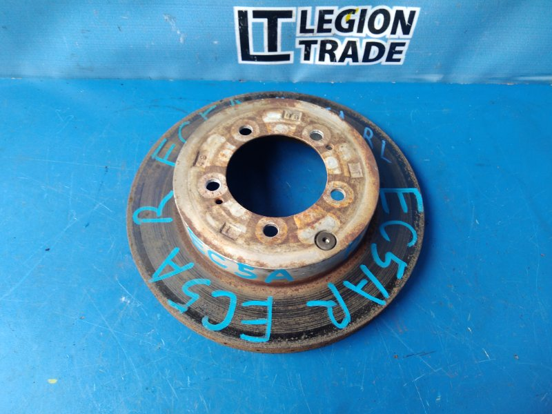 Тормозной диск Mitsubishi Legnum EC5A 6A13TT задний