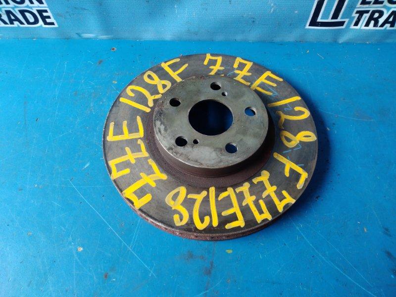 Тормозной диск Toyota Will Vs ZZE128 передний