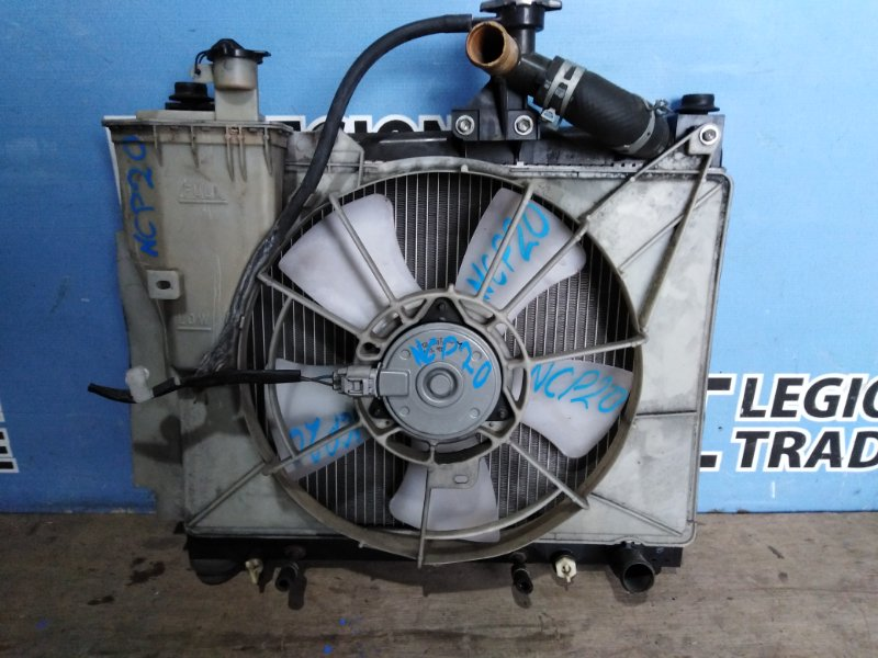 Радиатор основной Toyota Funcargo NCP20 2NZFE