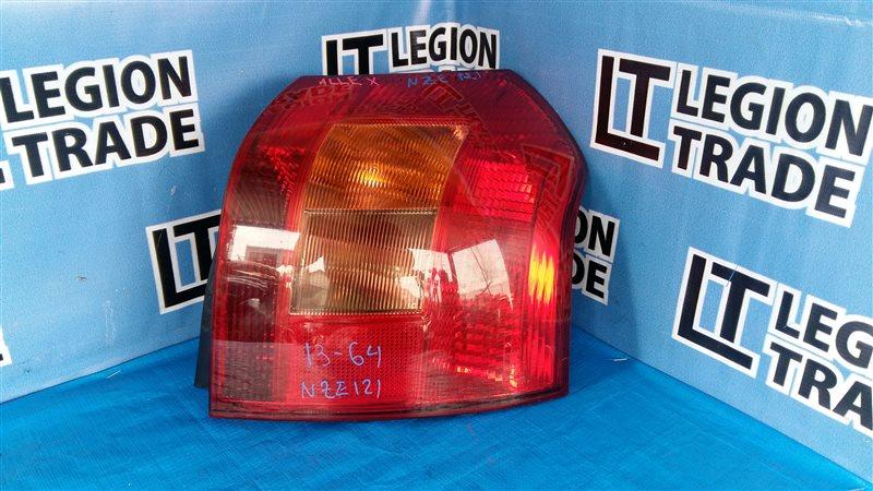 Стоп-сигнал Toyota Corolla Runx NZE121 задний правый