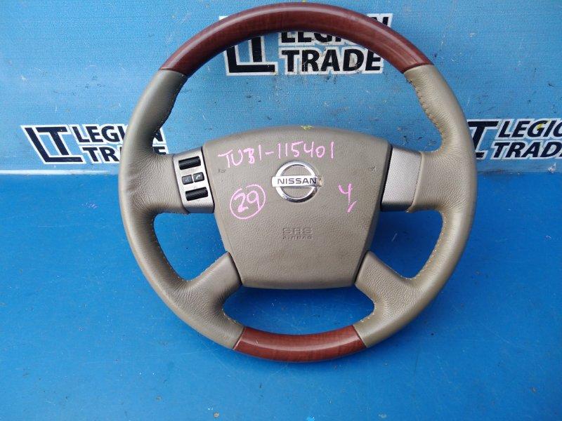 Руль Nissan Presage TU31