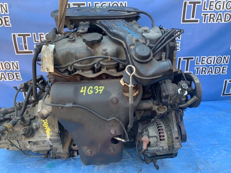 Двигатель Mitsubishi Galant E32A 4G37 1990.09.2
