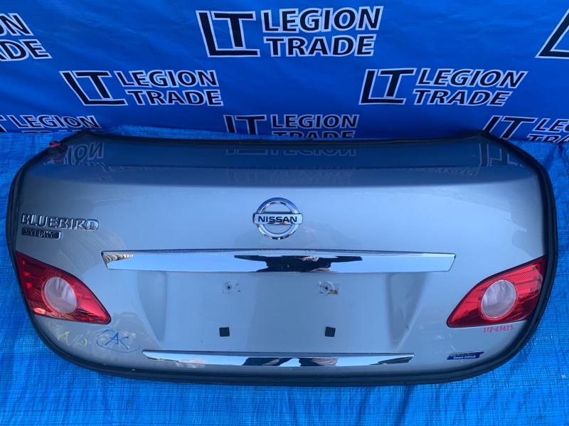 Крышка багажника Nissan Bluebird KG11 MR20DE