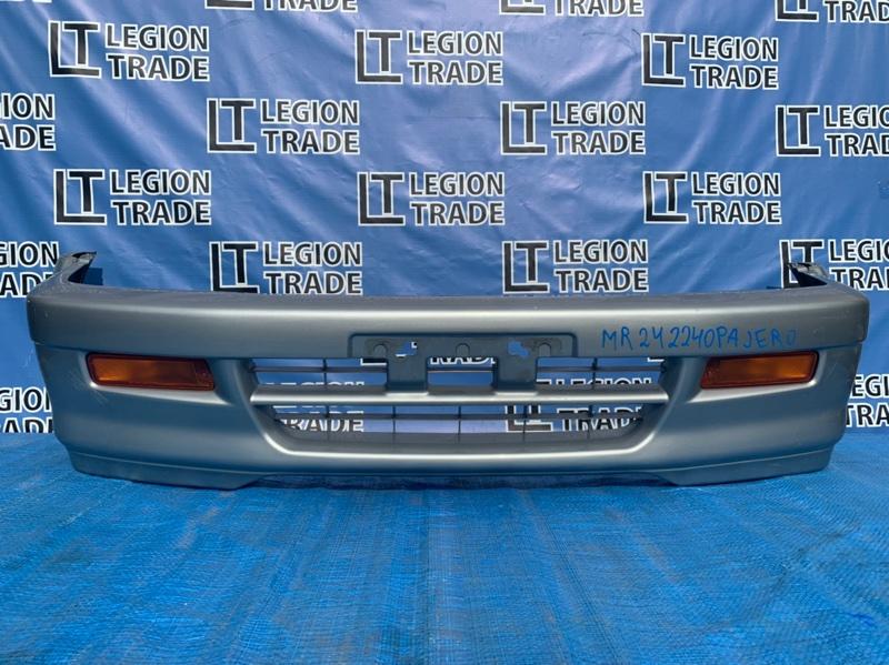 Бампер Mitsubishi Challenger K96 6G72 1997.02.1 передний