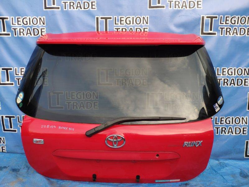 Дверь 5-я Toyota Corolla Runx NZE121