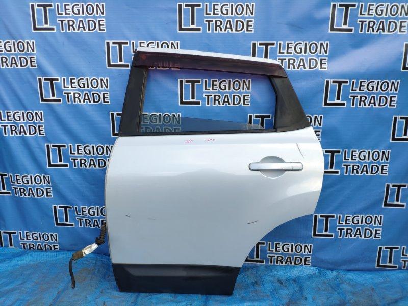 Дверь Nissan Dualis J10 задняя левая