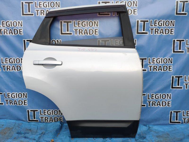 Дверь Nissan Dualis J10 задняя правая