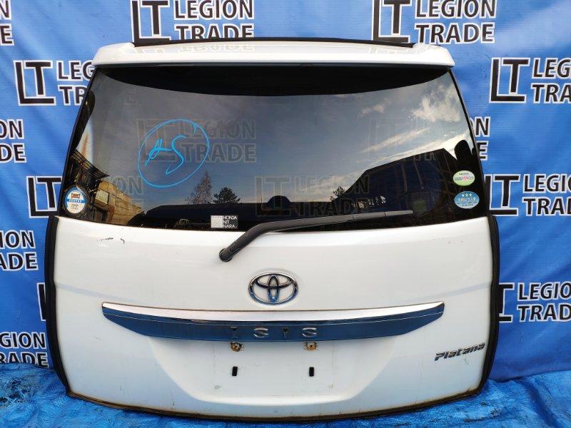 Дверь 5-я Toyota Isis ZNM10