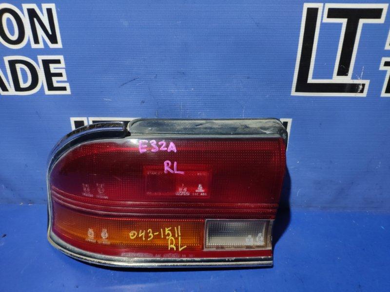 Стоп-сигнал Mitsubishi Galant E31A задний левый