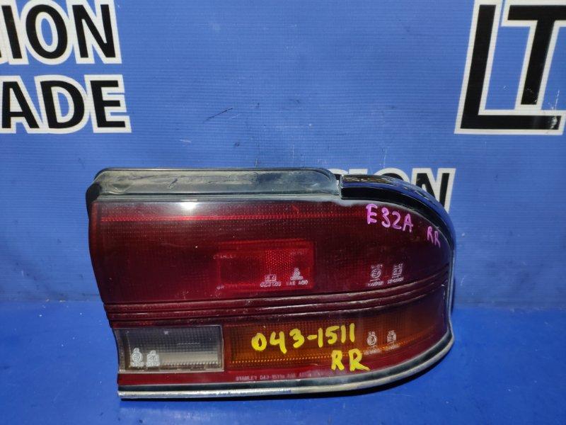 Стоп-сигнал Mitsubishi Galant E31A задний правый