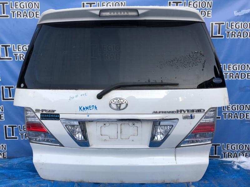 Дверь 5-я Toyota Alphard Hybrid ATH10 2003.08